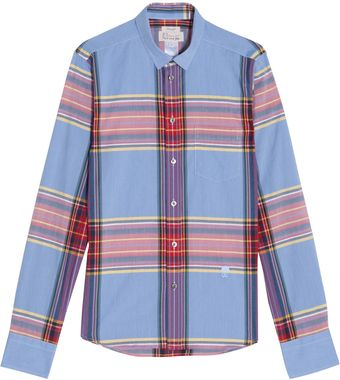 Paul & Joe Check Shirt - Lyst