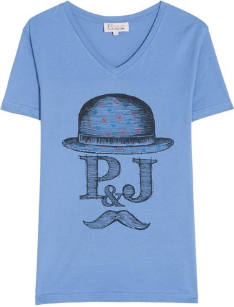 Paul & Joe Printed Tshirt - Lyst