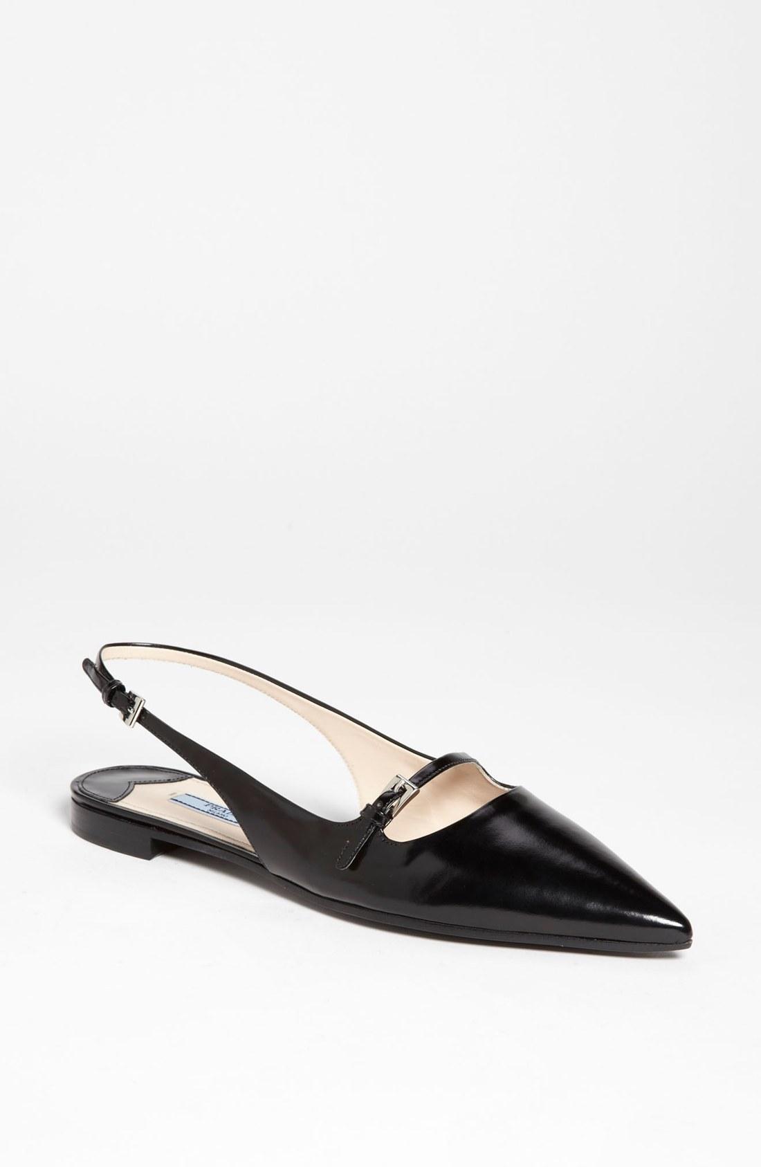 Nordstrom Prada Flat Shoes