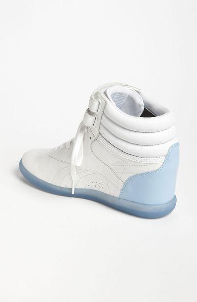Reebok Freestyle Hi Wedge A Keys Sneaker Women nordstrom ...
