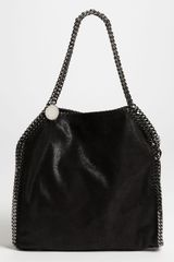 Stella McCartney Falabella Small Shaggy Deer Tote - Lyst