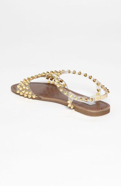 7bfbbbc61da Black Platform Sandals: Steve Madden Gold Sandals