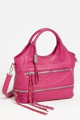 Steven By Steve Madden Besos Leather Satchel - Lyst