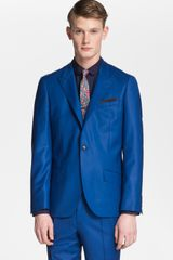 Topman Lux Collection Slim Fit Wool Blazer - Lyst