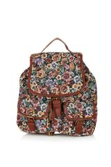 Topshop Tapestry Backpack - Lyst