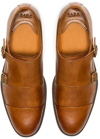 Zara Monk Shoe - Lyst