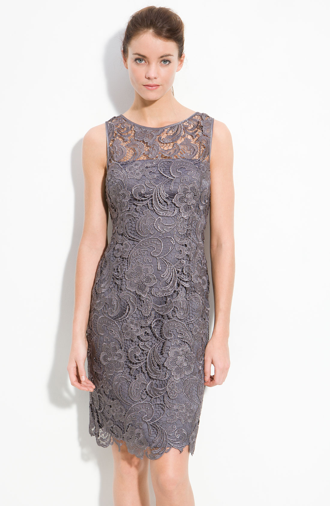 Galerry sheath dress gray
