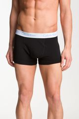 Calvin Klein Flexible Fit Trunks - Lyst