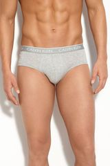Calvin Klein Ck One Stretch Cotton Briefs - Lyst