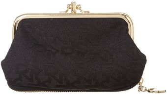 DKNY Small Black Coin Purse - Lyst