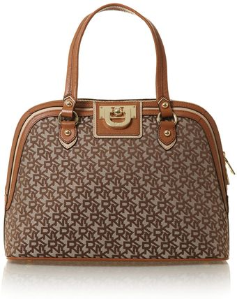 DKNY Vintage Tan Dome Bag - Lyst