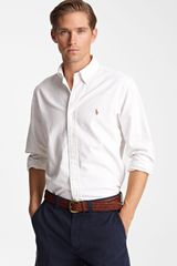 Polo Ralph Lauren Custom Fit Oxford Shirt - Lyst