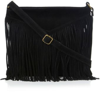 Steve Madden Bvexie Fringed Cross Shoulder Bag - Lyst