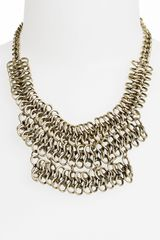 Topshop Collar Necklace - Lyst