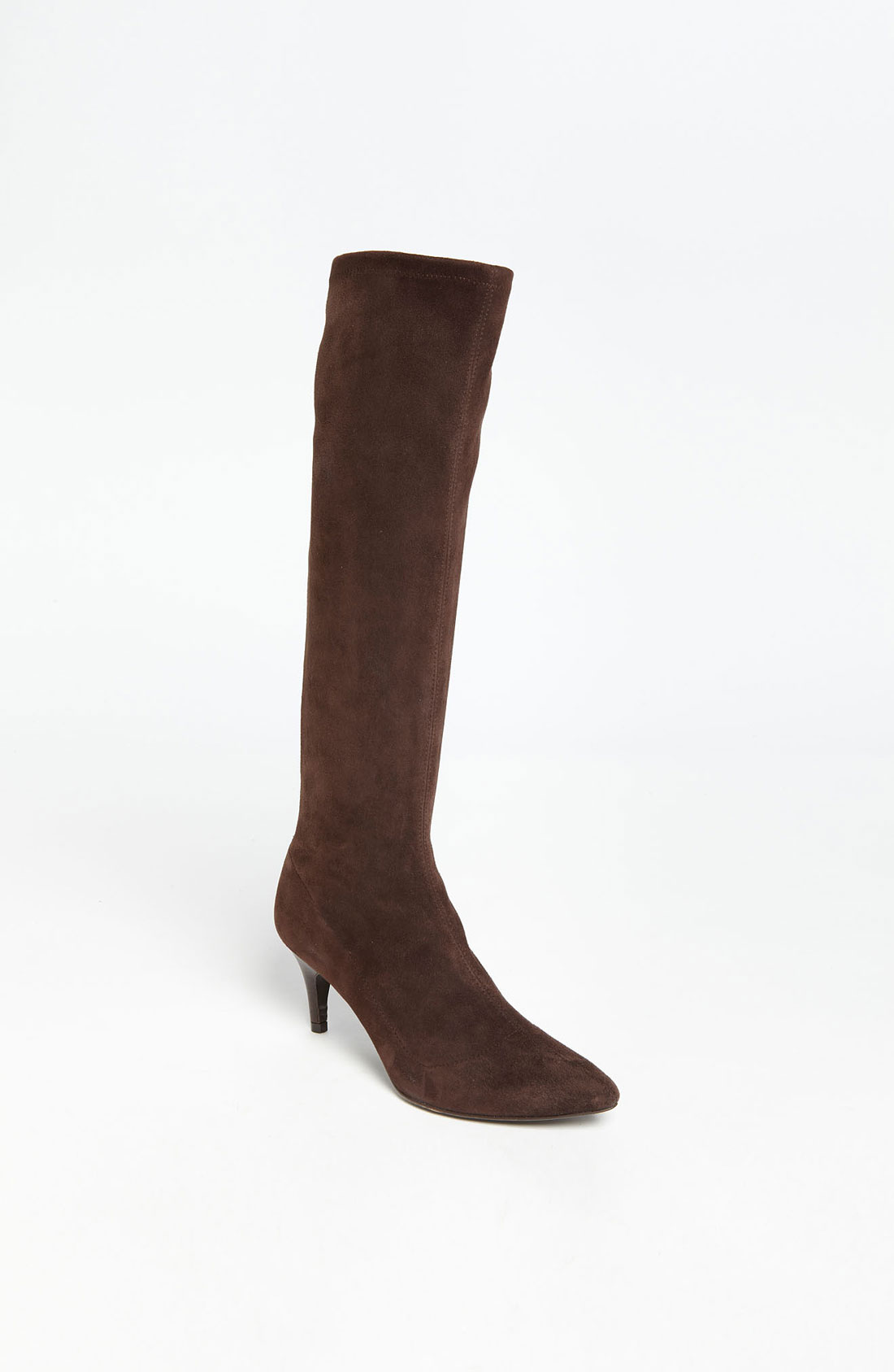 delman s lilia boot in brown brown suede lyst