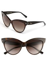 Dior 58mm Cats Eye Sunglasses - Lyst