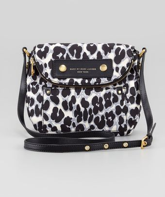 Marc By Marc Jacobs Preppy Nylon Natasha Leopardprint Mini Bag - Lyst