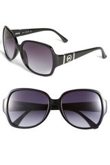 Michael by Michael Kors 56mm Square Sunglasses - Lyst