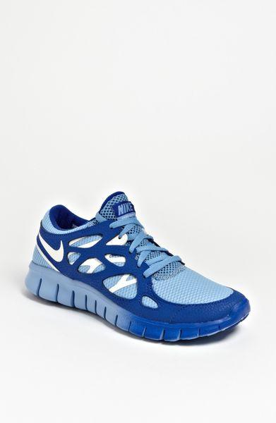 nike free run 2 ext running shoe women in blue light blue. Black Bedroom Furniture Sets. Home Design Ideas