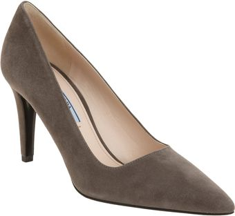 Prada Pointed Toe Pump - Lyst