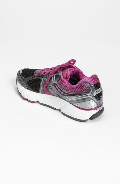 saucony progrid echelon 3 running shoe women in silver. Black Bedroom Furniture Sets. Home Design Ideas