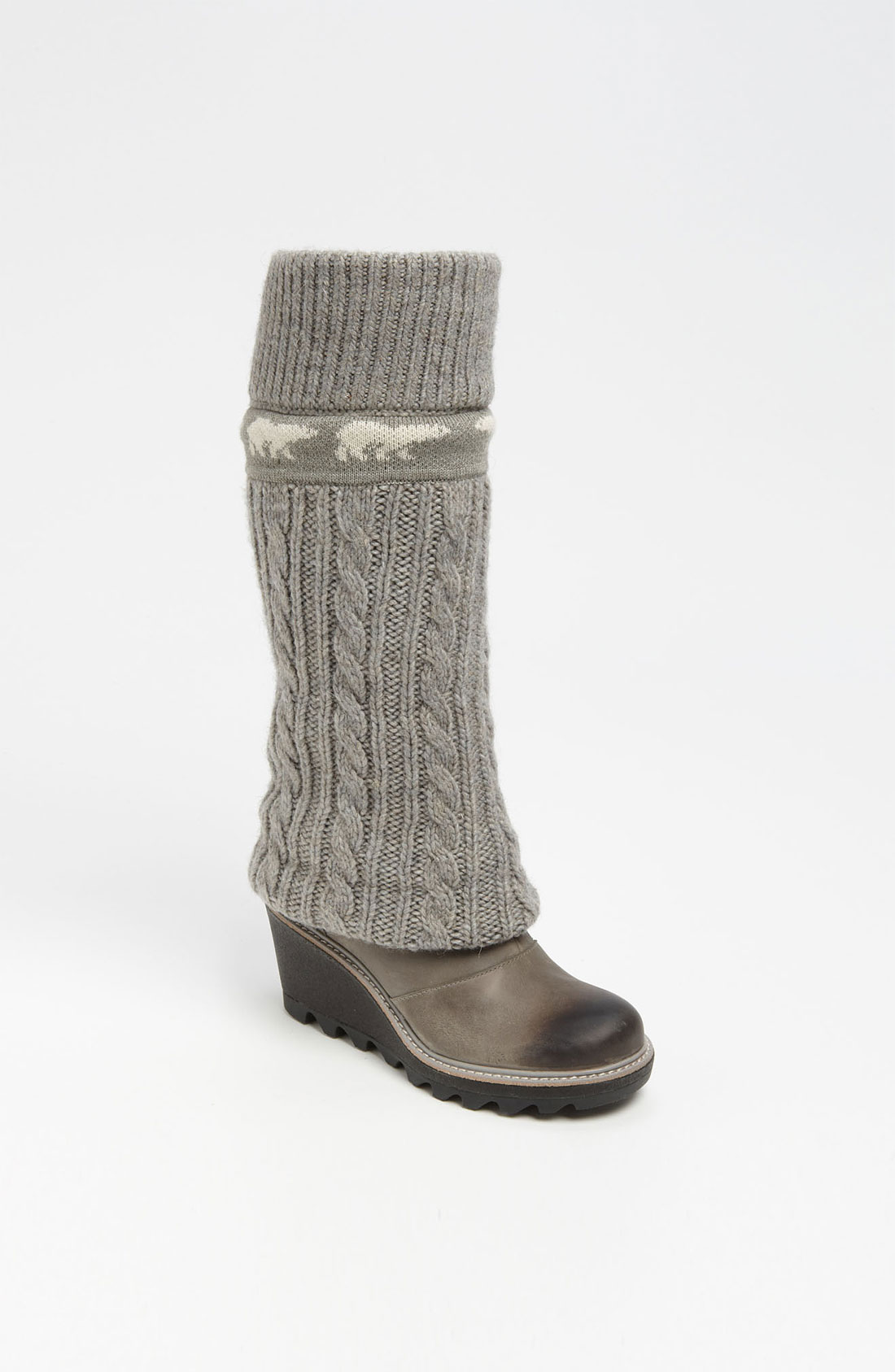 Cable Weather Boot : Womens gray sorel boots original red