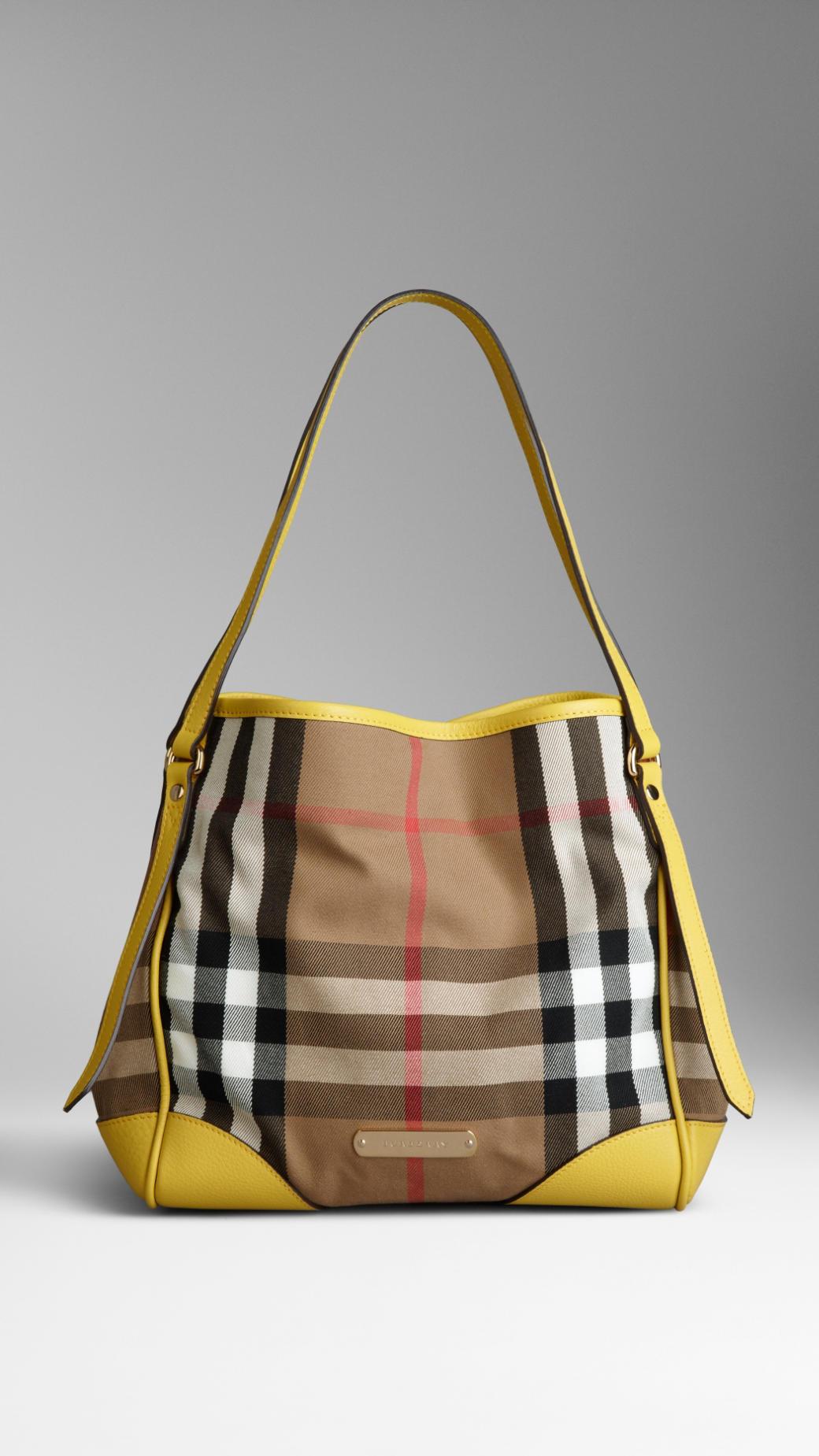 Burberry Bag Yellow