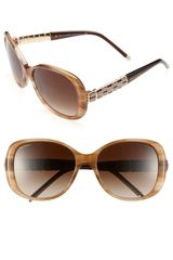 Bvlgari Embellished Temple Sunglasses - Lyst