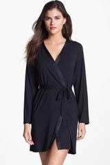 Calvin Klein Essentials Short Robe - Lyst