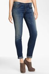 Current/Elliott The Rolled Stretch Jeans - Lyst