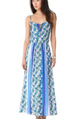 Ella Moss Tiki Dress - Lyst