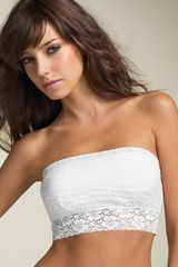 Free People Scalloped Lace Bandeau - Lyst