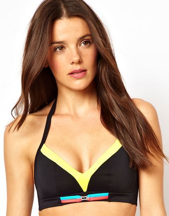 Freya Crush Soft Triangle Bikini Top - Lyst