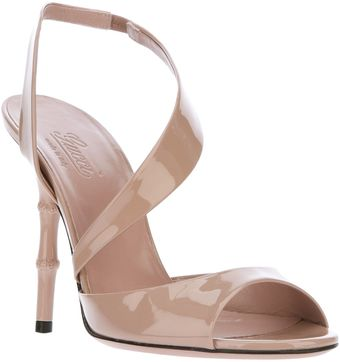Gucci Open Crossover Pump - Lyst