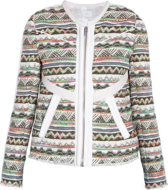 Iro Aztec Multi Colour Jacket - Lyst