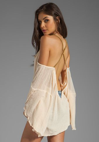 Jen's Pirate Booty Grecian Wildlife Drop Back Mini in Cream - Lyst