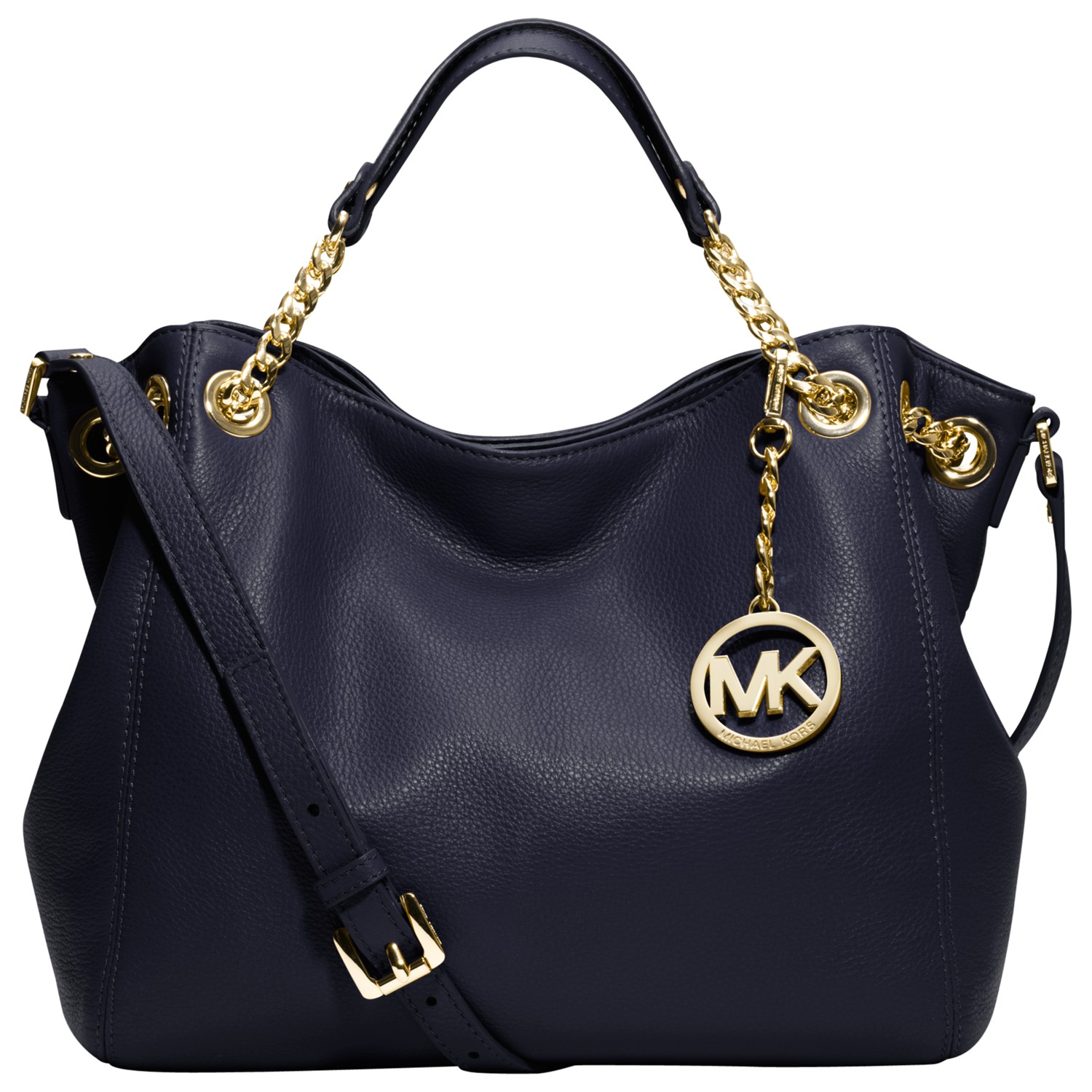 89b1a7ad1f73 MICHAEL Michael Kors Jet Set Chain Medium Tote Handbag in Blue - Lyst