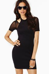 Nasty Gal Mystic Mesh Dress - Lyst