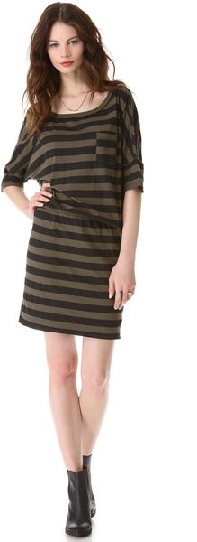 Nsf Clothing Bette Striped Dress - Lyst