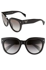 Prada Cats Eye Sunglasses - Lyst