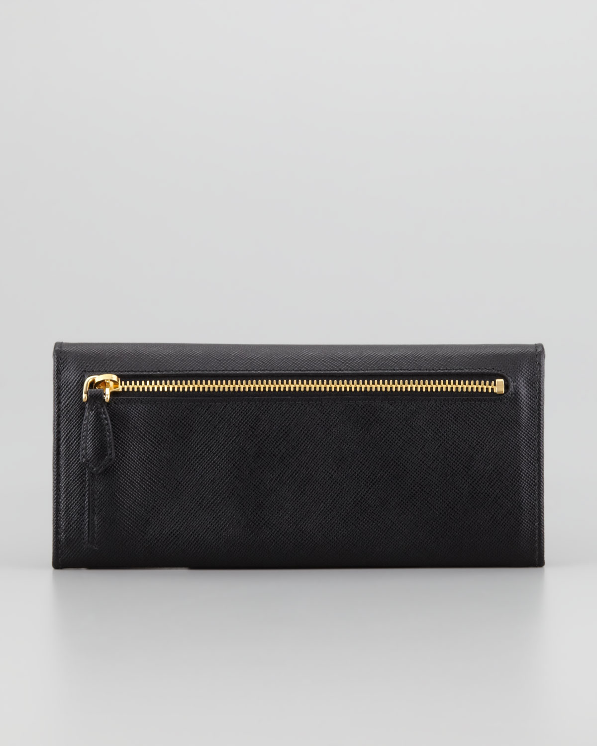c7fc83636c0681 Prada Saffiano Flap Wallet Black | Stanford Center for Opportunity ...