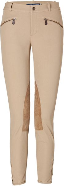 Ralph Lauren Cotton Stretch Twill Hudson Pants in Earth Tan - Lyst