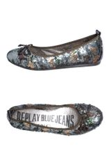 Replay Ballet Flats - Lyst
