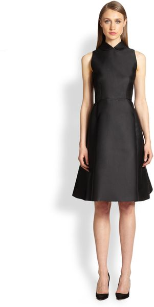 Rochas Peter Pan Collar Dress - Lyst