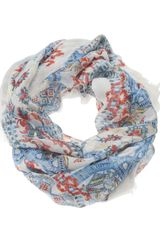 Temperley London Mosaic Circle Scarf - Lyst