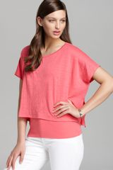 Eileen Fisher The Loose Tee - Lyst