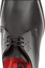 Jeffery West Toecap Gibson Derby Shoes - Lyst