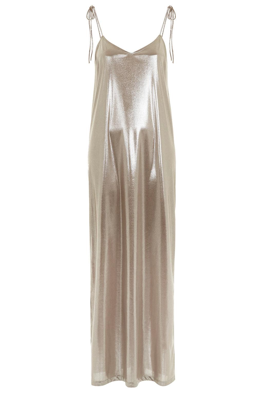 Galerry slip dress silver