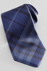 Burberry Tonal Check Silk Tie - Lyst