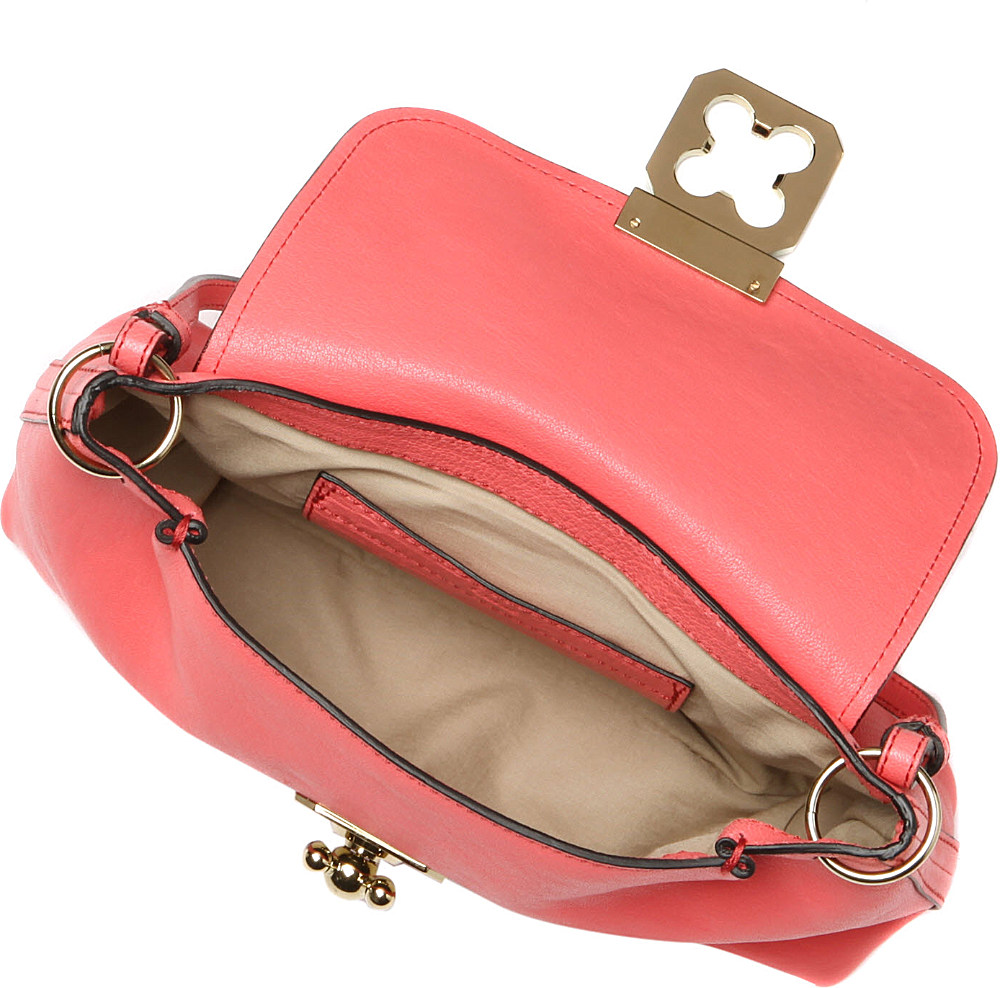 Chlo¨¦ Elsie Leather Crossbody Bag in Pink (paradise pink) | Lyst